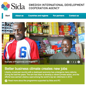 Exportation vers la Suède