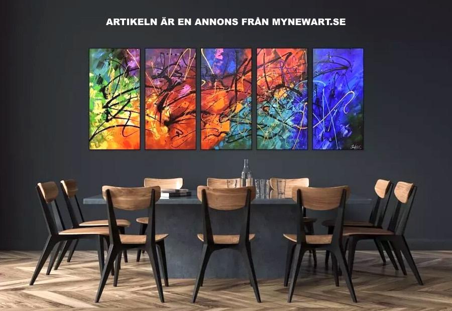 Köp konst billigt på nätet. Foto: MyNewArt.se